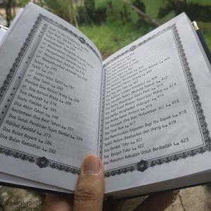 Buku Yasin - Yasinan - Souvenir 100 Hari - percetakan buku yasin tahlil - cetak yasin - percetakan buku yasin